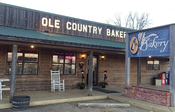 Ole Country Bakery front Christmas 2014