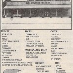 Ole Country Bakery early newspaper ad 1990s